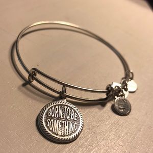 Alex and Ani Born To Be Something Bangle